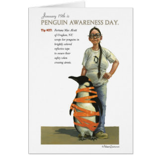 Penguin Awareness Day Card
