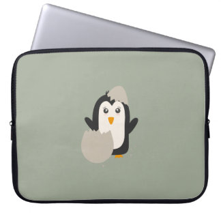 Penguin baby laptop computer sleeves