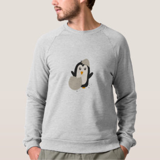 Penguin baby sweatshirt