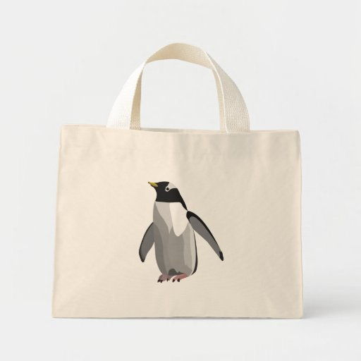 penguin canvas bags