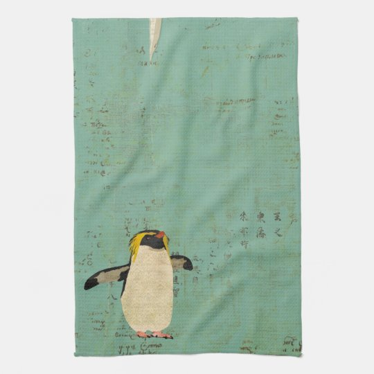 Penguin Blue Lagoon Towel