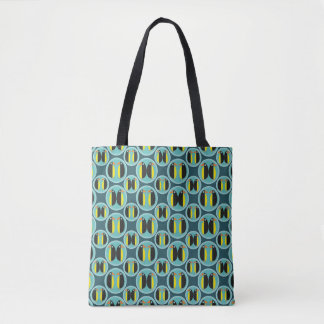 Penguin Bubbles Tote Bag