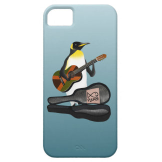 Penguin Busking iPhone 5 Covers