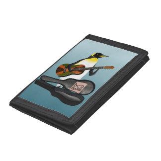 Penguin Busking Tri-fold Wallet