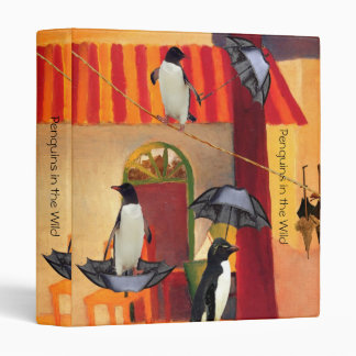 Penguin Cafe 3 Ring Binders