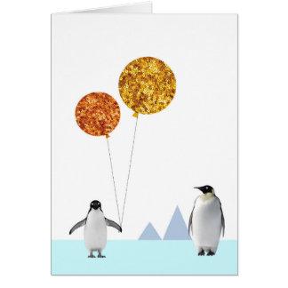 Penguin Card - Blank