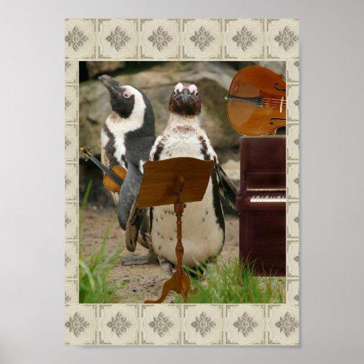 Penguin Chamber Music Poster