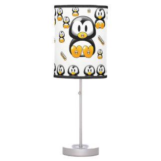 Penguin childrens white lamp shade