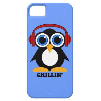 penguin chillin' iPhone 5 cases