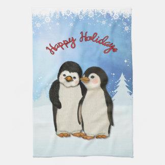 Penguin Christmas Kitchen Towel