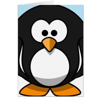 Penguin Close-Up Card