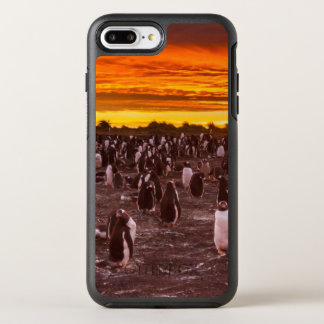 Penguin colony at sunset, Falkland OtterBox Symmetry iPhone 7 Plus Case