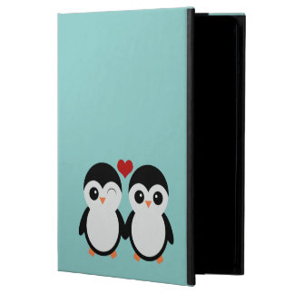 Penguin couple iPad case