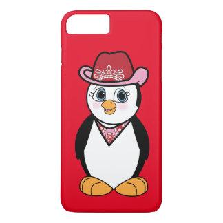 Penguin Cowgirl iPhone 7 Plus Case
