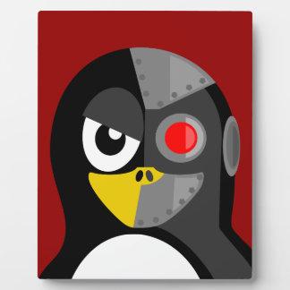 Penguin Cyborg Plaque