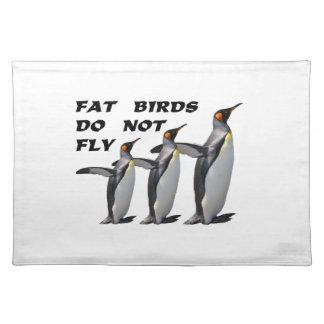 Penguin design placemat