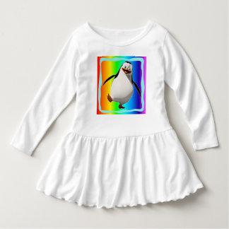 Penguin design toddler dress