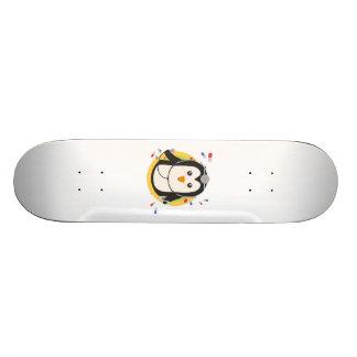 Penguin doctor in circle Z2j5l Skateboard