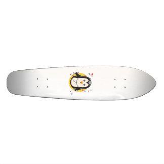 Penguin doctor in circle Z2j5l Skateboard Decks