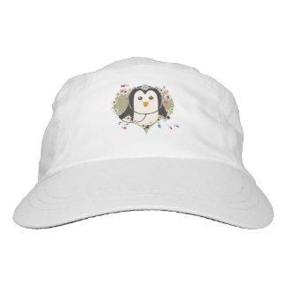 Penguin doctor with flower heart Zuq99 Hat