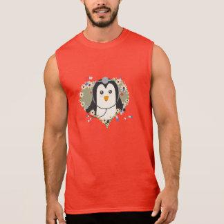 Penguin doctor with flower heart Zuq99 Sleeveless Shirt