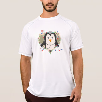 Penguin doctor with flower heart Zuq99 T-Shirt