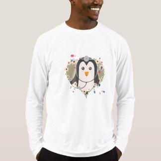 Penguin doctor with flower heart Zuq99 T-Shirt