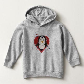 Penguin doctor with heart Zal28 Hoodie