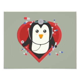 Penguin doctor with heart Zal28 Photo