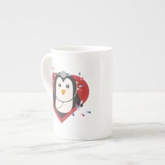 Penguin doctor with heart Zal28 Tea Cup