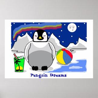 Penguin Dreams Print