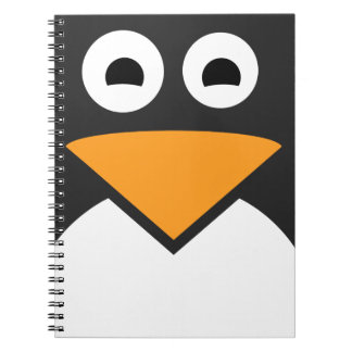 Penguin Face Note Books