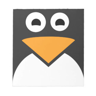 Penguin Face Notepads