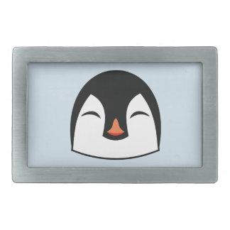 Penguin Face Rectangular Belt Buckles