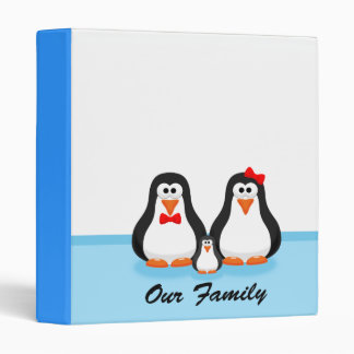 Penguin Family Binder