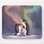 PENGUIN FAMILY by SHARON SHARPE Mouse Pads