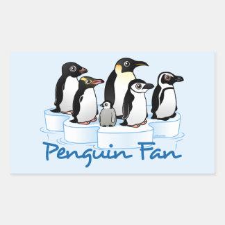 Penguin Fan Sticker