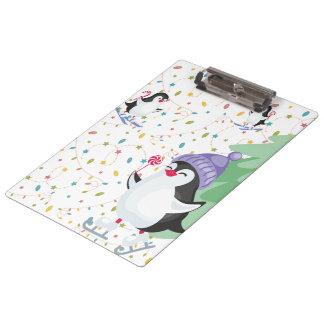 Penguin Folly Clipboard
