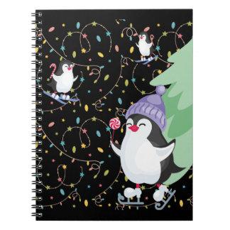 Penguin Folly Spiral Notebook
