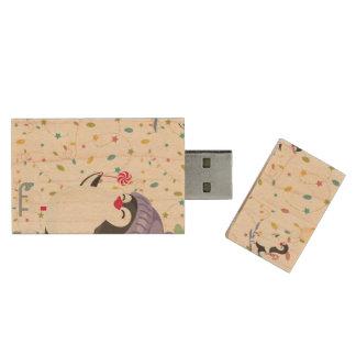 Penguin Folly Wood USB Flash Drive