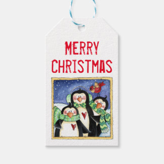Penguin Friends Gift Tags