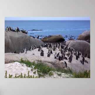 Penguin Friends Print