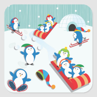 Penguin Fun Stickers