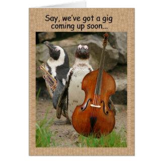 Penguin Gig Invite