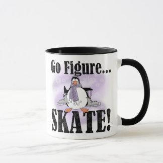 Penguin Go Figure Skate Mug