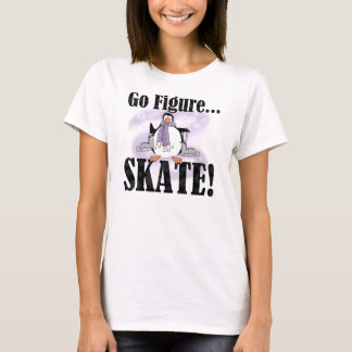 Penguin Go Figure Skate T-shirts and Gifts