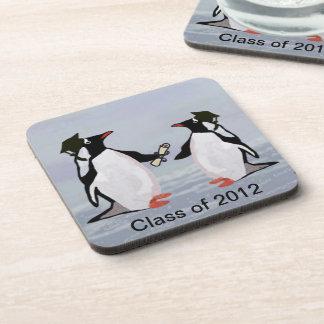Penguin Grads Class of 2012 Coaster Set