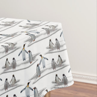 Penguin Iceberg Party Tablecloth