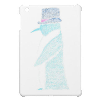 Penguin In A Top Hat Case For The iPad Mini