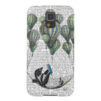 Penguin in Hammock Balloon Galaxy S5 Covers